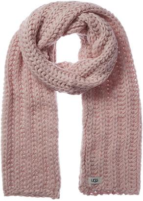 UGG Chunky Knit Wool-Blend Scarf
