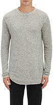 Nlst Men's Heathered Knit Sweatshirt