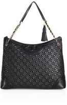 Tory Burch Fleming Quilted Leather Tote