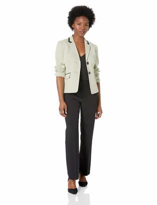 Le Suit LeSuit Women's 2 Button Novelty DOT Pant Suit