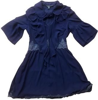 Marc Jacobs Purple Silk Dresses