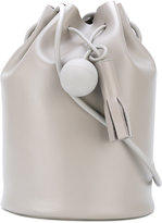 Building Block drawstring bag - women - Leather - One Size