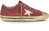Golden Goose Deluxe Brand V-Star 2 low-top dipped canvas trainers