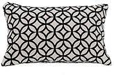 HiEnd Accents Augusta Geometric Velvet Pillow