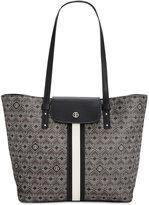 Giani Bernini Graphic Signature Tote, Only at Macy's