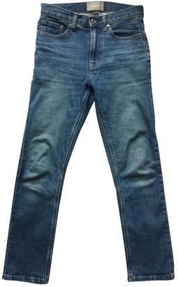 Everlane Blue Cotton - elasthane Jeans for Women
