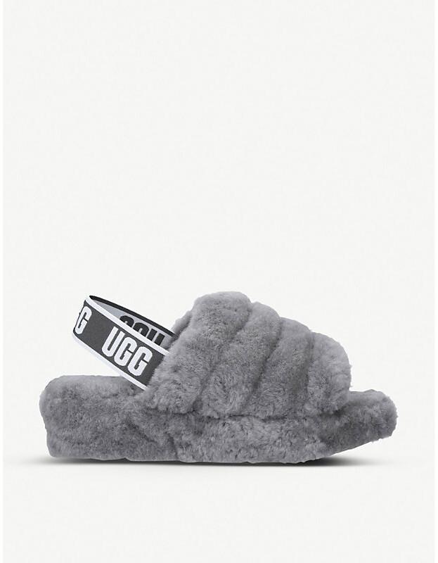 9d156f43531 Fluff yeah sheepskin slides