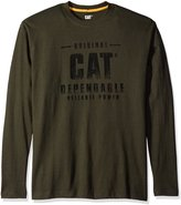 Caterpillar Men's Distressed L/S T-Shirt