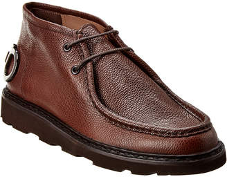 Salvatore Ferragamo Terry Gancini Leather Desert Boot