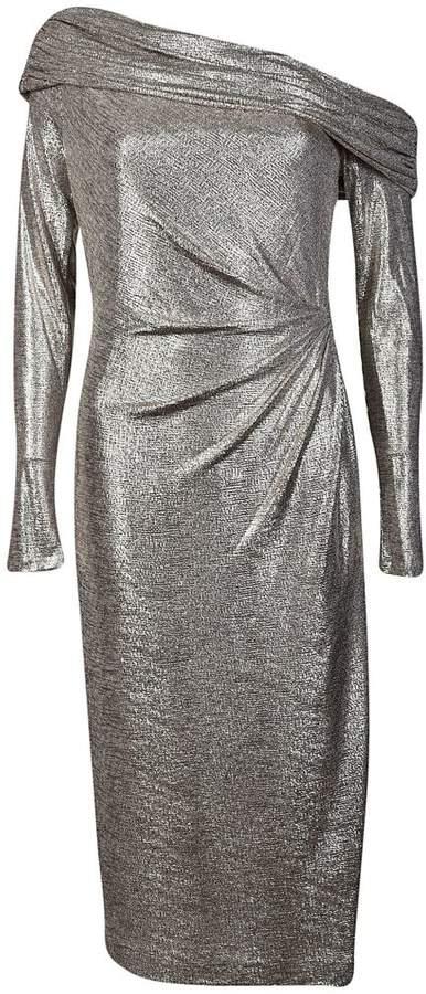 Rachel Zoe Glenda Metallic Dress