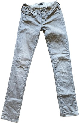 Ikks Beige Cotton - elasthane Jeans for Women