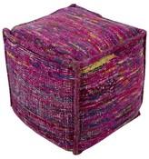 Surya Rovigo Cube Pouf