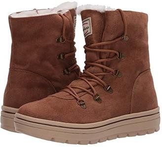 Skechers Street Cleat - Snowslide (Chestnut) Women's Boots