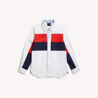 Tommy Hilfiger Colorblock Woven Shirt