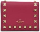 Valentino Garavani Rockstud small flap wallet
