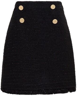 Liu Jo Black Tweed Skirt