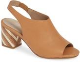 Eileen Fisher Bobbi Leather Slingback Sandal
