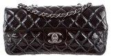 Chanel Patent E/W Flap Bag
