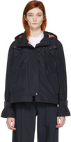 Jil Sander Navy Navy Hooded Jacket