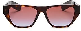 Christian Dior Women's Insideout2 Geometric Flat Top Sunglasses, 54mm