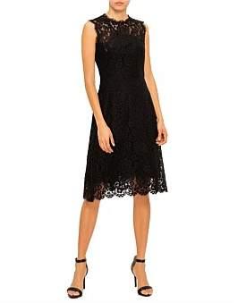 Dolce & Gabbana Lace Sleeveless Midi Dress