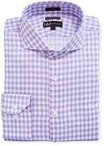 Neiman Marcus Classic Fit Dobby Check Dress Shirt