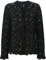 Ermanno Scervino embroidered lace blazer