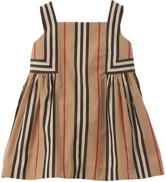 Burberry Icon Stripe Poplin Dress