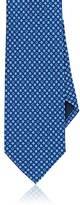 Salvatore Ferragamo Men's Floral- & Gancio-Buckle-Print Silk Necktie