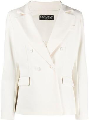 Le Petite Robe Di Chiara Boni Double Breasted Blazer