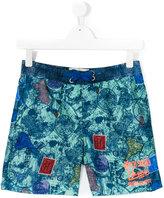 Vingino teen printed swim shorts - kids - Polyester - 14 yrs