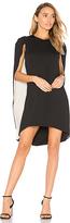 Halston Cape Dress in Black. - size 2 (also in )