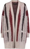 By Malene Birger Berbicia Textured Intarsia-Knit Cardigan