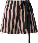 Rochas striped shorts - women - Silk/Cotton/Polyester - 38