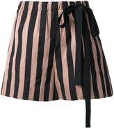 Rochas striped shorts - women - Silk/Cotton/Polyester - 40