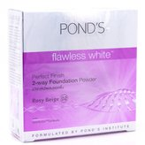 Pond's Flawless White Perfect Finish 2-way Foundation Powder (Rosy Beige) by Pond's