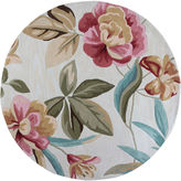 Asstd National Brand Floral Round Area Rug