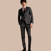 Burberry Slim Fit Travel Tailoring Prince of Wales Check Wool Suit