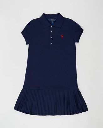 Polo Ralph Lauren Pleat Polo Dress - Teens