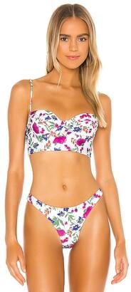 Vix Paula Hermanny Corsage Bikini Top