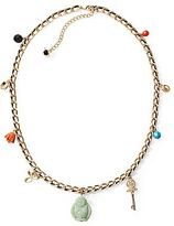 Charm & Chain Mixit® Buddha Charm Chain Necklace