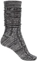 BearPaw Boyfriend Slouchy Boot Socks - Over the Calf (For Women)