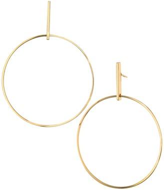 Savvy Cie 14K Gold Plated Geometric Drop Earrings