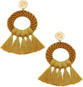 Monroe Canvas Jewelry Statement Earrings