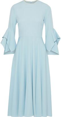 Roksanda Ayres Ruffle-trimmed Stretch-crepe Dress