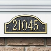 The Well Appointed House Personalized Admiral Standard Wall Plaque-Available in a Variety of Finishes