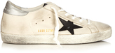 Golden Goose Deluxe Brand Super Star low-top leather trainers
