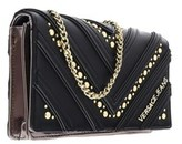 Versace Ee3vobpy1 E899 Black/gold Wallet On A Chain.