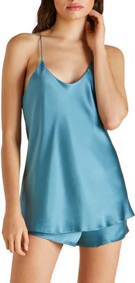Olivia von Halle Bella Silk Cami Short Pajama Set
