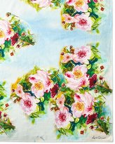 "April Cornell Peony Tablecloth, 60"" x 90"""